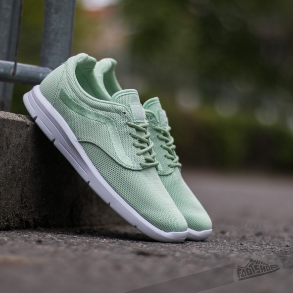 Vans Mesh Iso 1.5 in Pastel Green. M 5bc566908ad2f91e363870be 15bd2af09